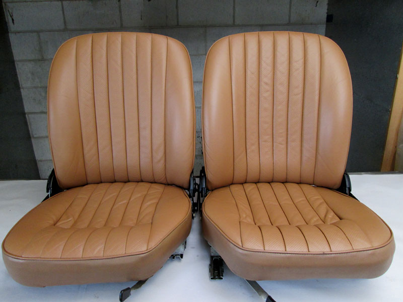 Refinished E-type seats